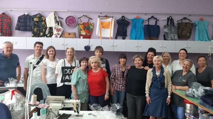 Udruga Kamensko održala je za prvu grupu nezaposlenih žena stručnu praksu